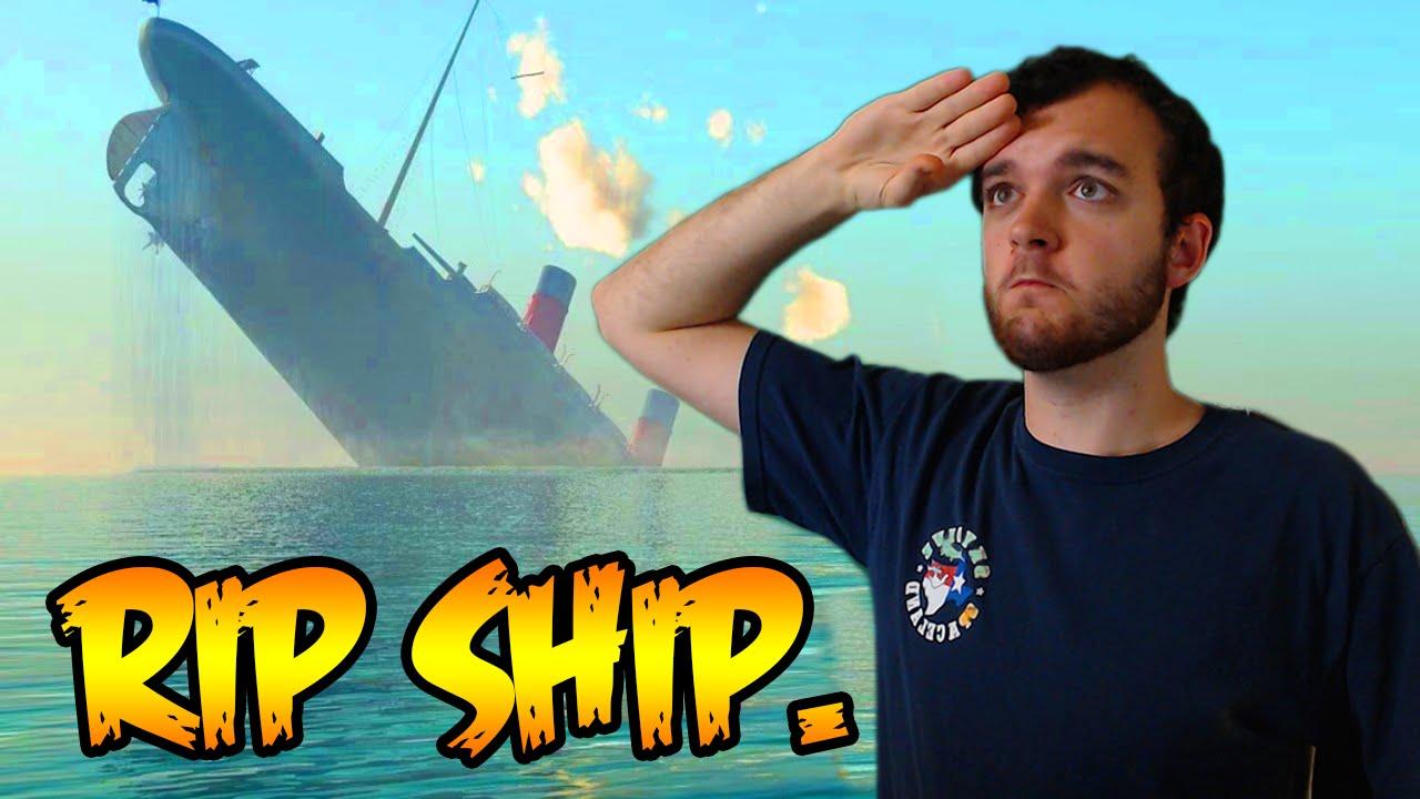 RIP SHIP. - YouTube