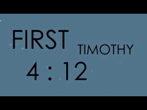 1 Timothy 4:12 - Seeds Family Worship -