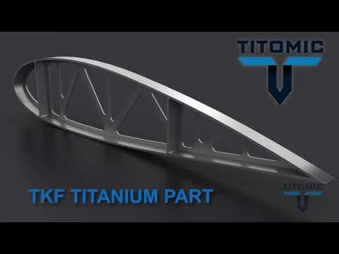 0 - Titomic stellt den weltgrößten 3D-Metalldrucker vor