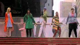 Glee - I love New york, New york (official video)