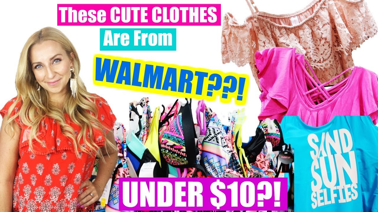 8e7eb1ee29c94 These CUTE CLOTHES are from WALMART?!?!😱 (UNDER $10 & UNDER $5 ...