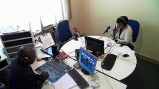 Dr Josiane Kusondisa et Nicole Emany sur Radio Air Libre.