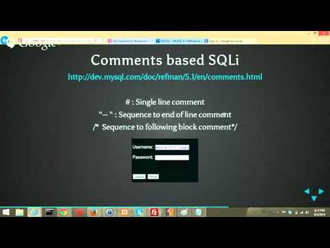 BNT-12: [Security Testing] SQL Injection for Beginners