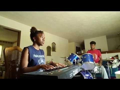 "Jhene Aiko ""Wading"" Cover by J Marie ft Renard Diggs"
