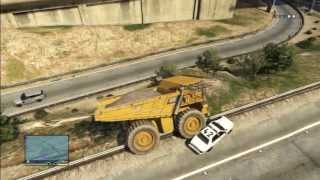 GTA 5 BIGGEST TRUCK VS COPS