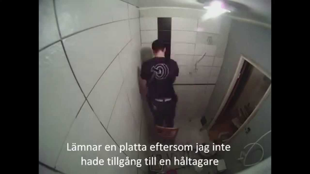 Hur man renoverar ett badrum   youtube