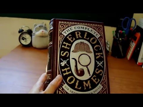 The Complete Sherlock Holmes New edition (Barnes & Noble Leatherbound Classic Collection)