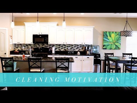 CLEANING MOTIVATION | SPEED CLEANING ROUTINE | STAY AT HOME MOM
