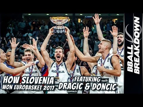 How SLOVENIA Won Eurobasket 2017 Featuring DRAGIC & DONCIC