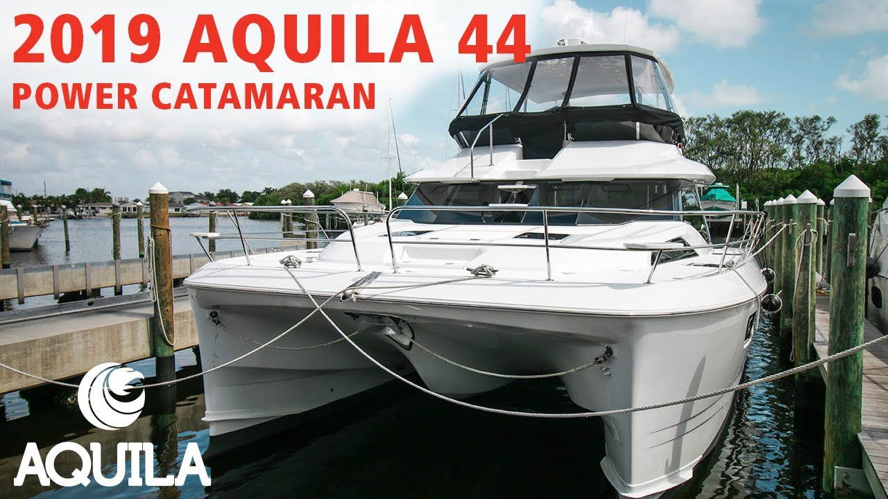 Download All-New Aquila 44 (2019) at MarineMax St. Petersburg, Florida