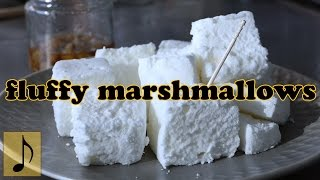 How to make Fluffy Marshmallow 【fast-forward cooking】