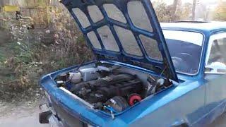 Ваз с двигателем  от BMW M3 ! турбо корч 450 HP