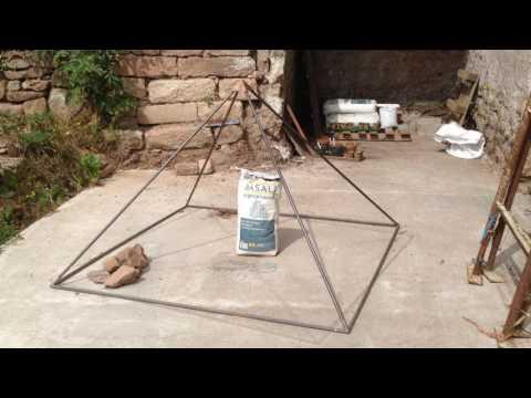 Electroculture Utiliser une pyramide en cuivre au jardin potager et en agriculture
