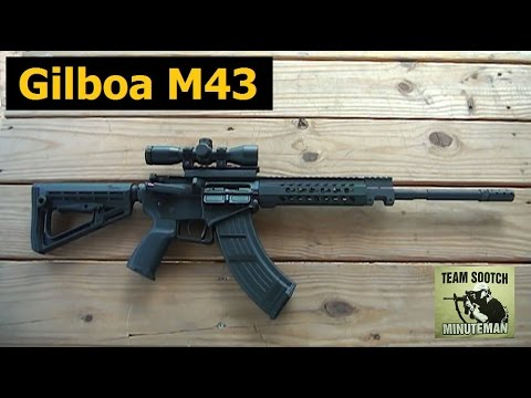 New Gilboa M43 AR-15 7 62x39 Israeli Rifle