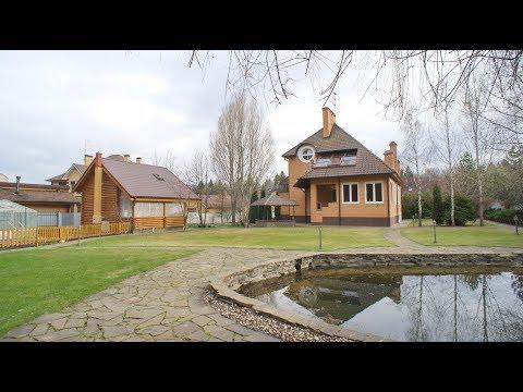Усадьба на прилесном участке с баней, гостевым домом и прудом в Шишкином Лесу, Калужское шоссе