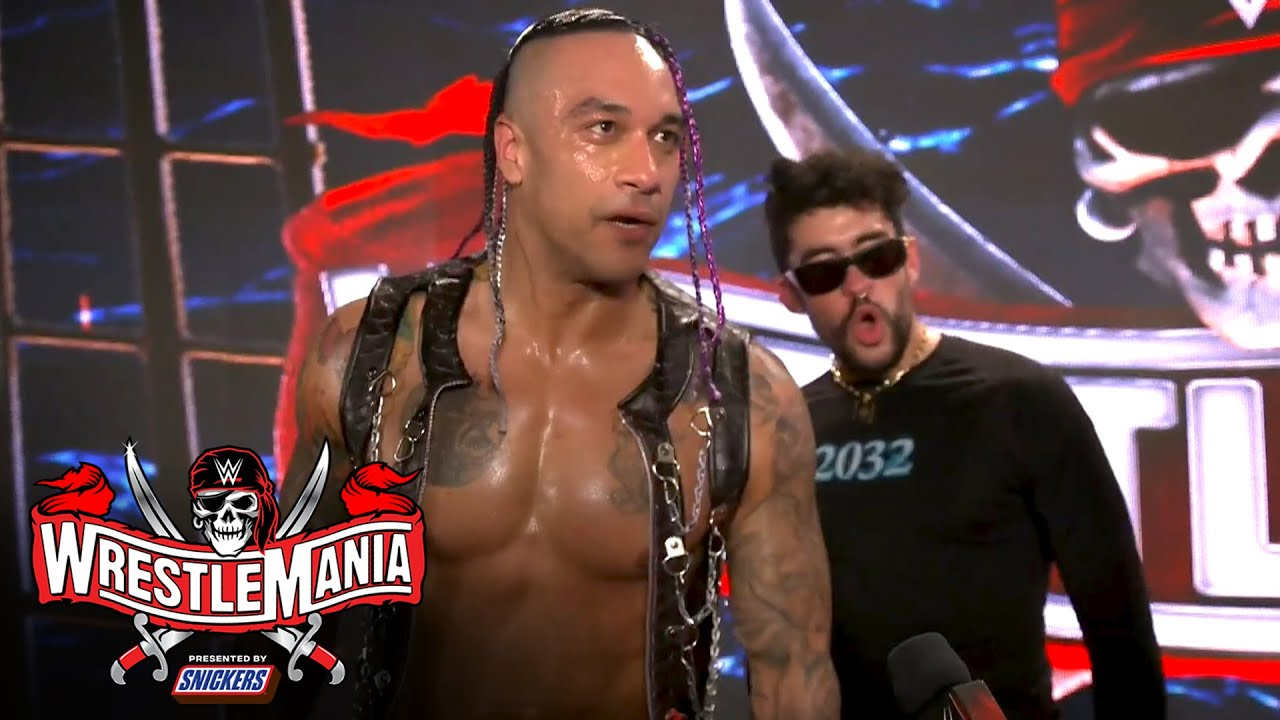 "Download Bad Bunny calls WrestleMania ""a dream come true"": WrestleMania 37 Exclusive, April 10, 2021"