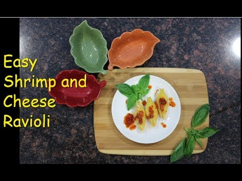 Easy and Delicious Shrimp Ravioli