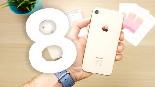iPhone 8 è NOIOSO! (e si chiama come me) — Unboxing