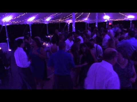 BLITHEWOLD MANSION WEDDING RECEPTION DANCING FOOTAGE || BOSTON WEDDING DJ || RA-MU AND THE CREW