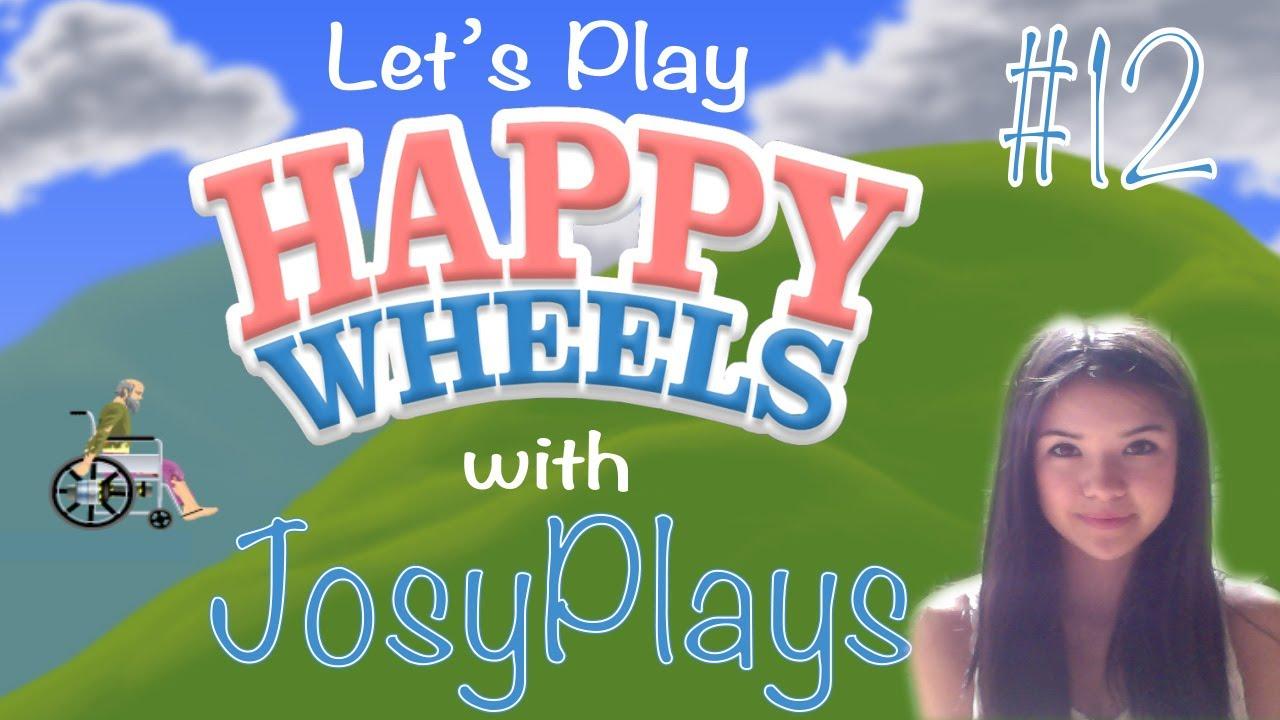 Let 39 s play happy wheels 12 in dead space josyplays - Let s play happy wheels ...