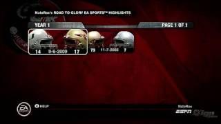 NCAA Football 10 Xbox 360 Gameplay - Dorm Room &