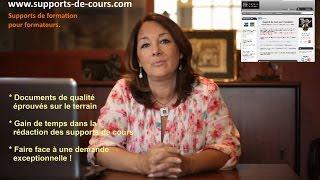Vente en ligne de supports de formation - cours pour formateurs
