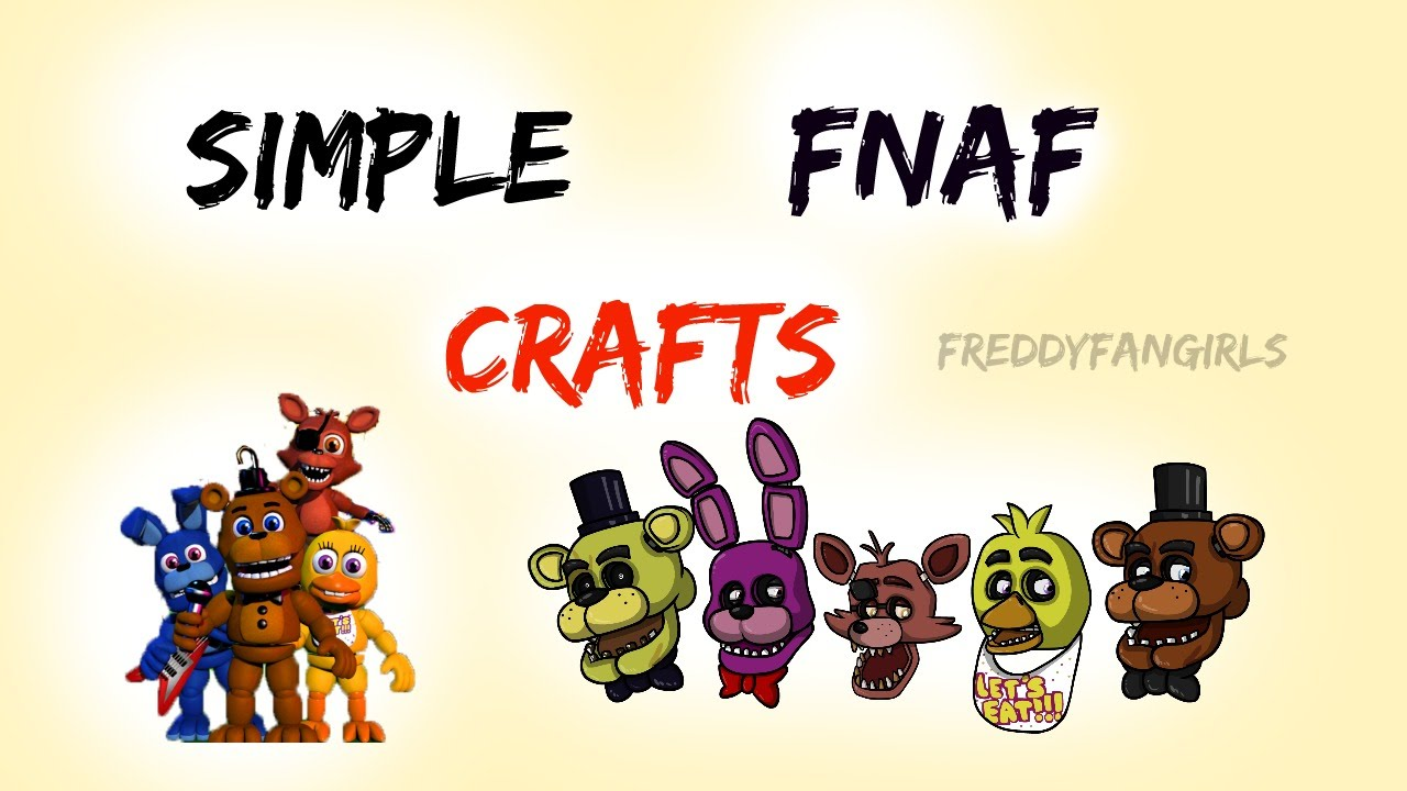 Fnaf Free Printable Crafts