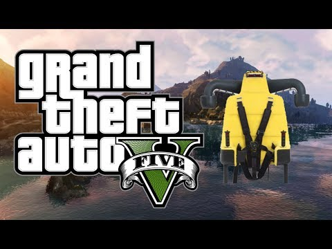GTA 5 Online New Jetpack Information And Functions Found In 1.13!