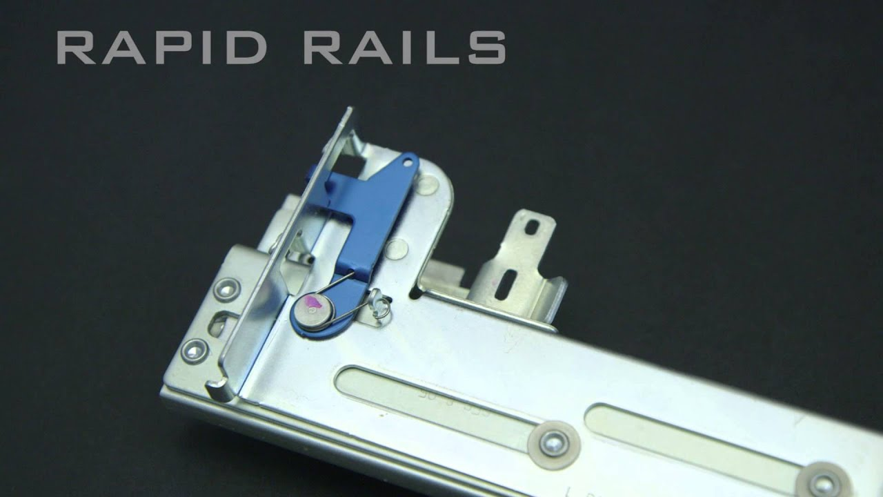 Rack Rail Mounting Kits Explained - for servers, arrays, KMM, routers  mounted in 19