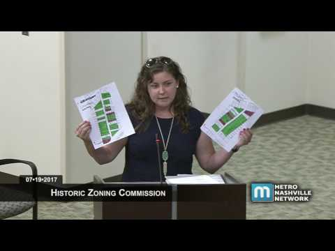 07/19/17 Historic Zoning Commission