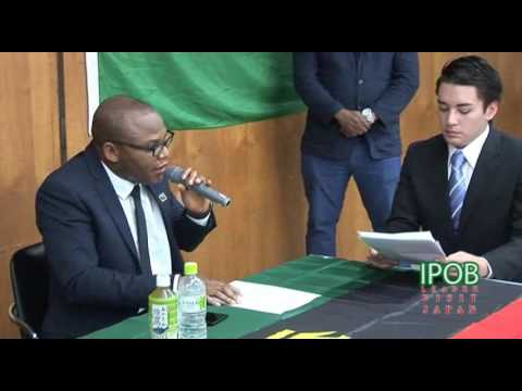 Exclusive interview with Mazi Nnamdi Kanu, The Supreme Leader of  Indigenous People of Biafra (IPOB)