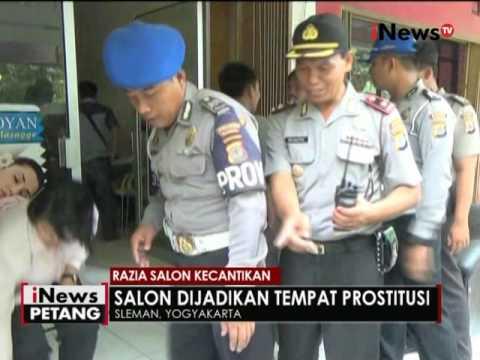 Sejumlah salon & spa di Sleman yang diduga tempat prostitusi dirazia - iNews Petang 12/05