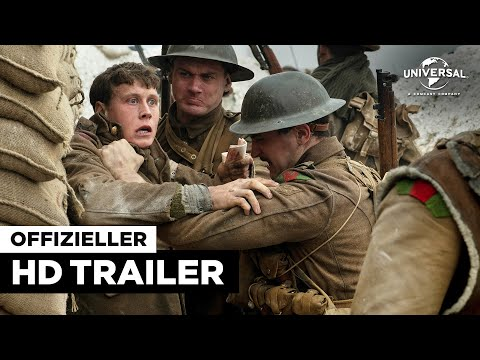 1917 - Trailer HD deutsch / german - Trailer FSK 12