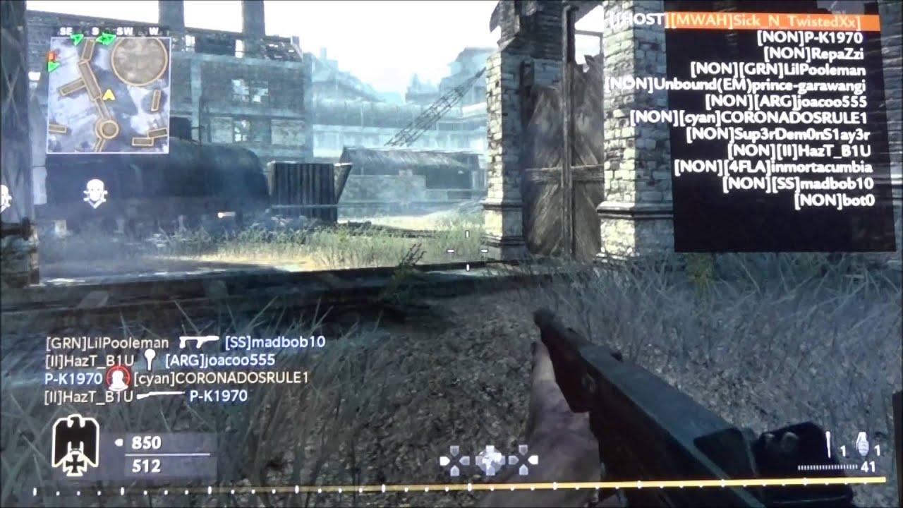 [PS3] Call of Duty World at War Hacked Lobby [Super XP]