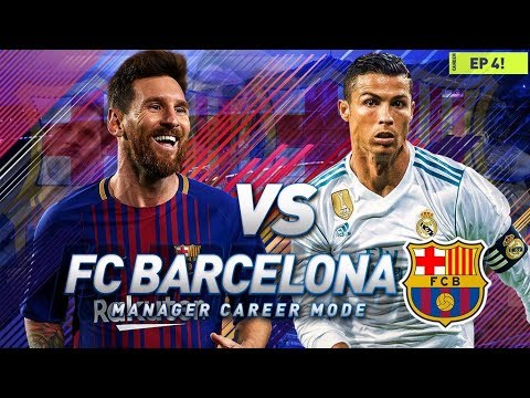 FIFA 18 Barcelona Career Mode - EP1 - Amazing ... - YouTube