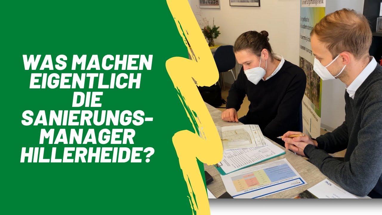 Was machen eigentlich die Sanierungsmanager in Hillerheide?
