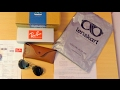 Ray-Ban RB3025 Aviator Sunglasses from Lenskart India - Unboxing, Review & Fake/Real Test