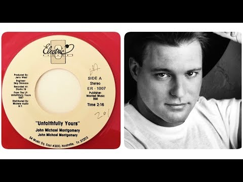 John Michael Montgomery - Unfaithfully Yours (1987) Rare Single