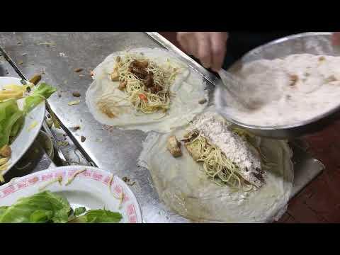 「有滷肉的潤餅!」嘉義朴子街頭美食|Runbing|Taiwanese Street Food|台灣美食|銅板美食