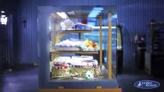 Кондитерские витрины Технохолод на torgoborud.com.ua (видео-обзор)(Кондитерские витрины используются в кофейнях, кондитерских, барах. Специальные температурные режимы спосо..., 2015-07-09T06:27:23.000Z)