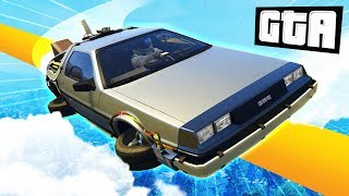 BACK TO THE FUTURE RACE | GTA 5 Races