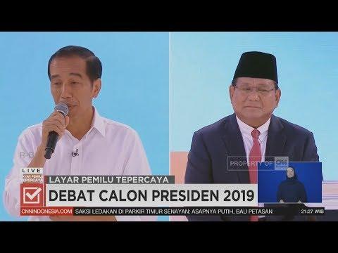 Debat Eksploratif Capres Jokowi & Prabowo - Segmen 4/6