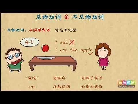 02及物动词和不及物动词  英語語法學習