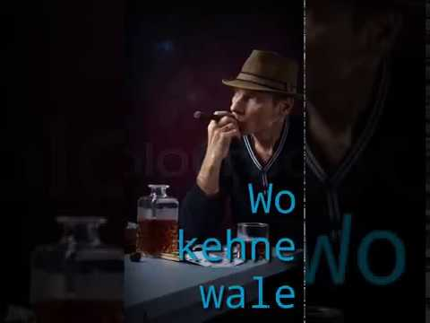 Wo Kehne Wale Mujhko Farebi/romanti Sab Love Whatsap Status