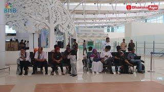 Download Video Suasana Penumpang Bandara Kertajati Majalengka Jawa Barat MP3 3GP MP4