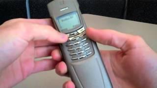 Nokia 8910 titanium