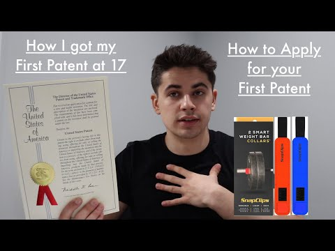 How I got my First Patent - How to Apply for a Patent - Step By Step