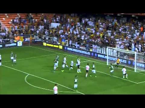 Valencia FC vs St Gallen (5 - 1) All Goals - UEFA Europa League 2013 - 2014 (24-10-2013)