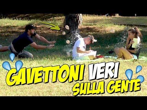 "GAVETTONI ""VERI"" SULLA GENTE - Prank"