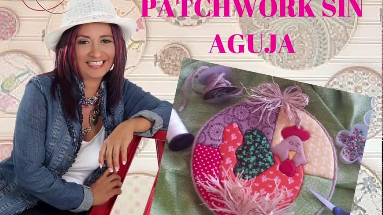 Como hacer falso patchwork o sin aguja youtube - Como hacer pachwork ...